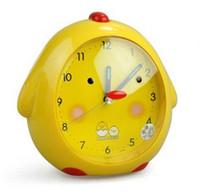 Wholesale new house design fashion cute child chicken design alarm clock five design to choose freeshipping