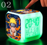 Wholesale Retail amp Uzumaki Naruto Colors Digital Alarm Clock Thermometer toys