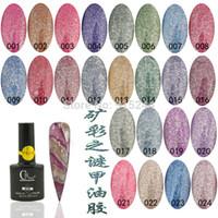 Wholesale NAIL GEL fashion Nail art supplies nail polish glue marble decorative pattern qq nail polish oil UV GEL Varnish