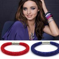 Wholesale New Hot Fashion Stardust Bracelets For Women Charm Bracelet Bangles With Full Crystal Pulseiras Femininas