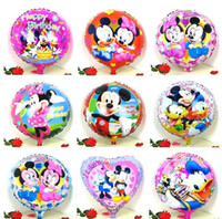Wholesale different designs mickey mouse party balloons ballon for mickey mouse party supplies minnie mouse party free to BR