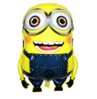 Wholesale Despicable Me Minions Foil Helium Balloon Birthday Party Wedding Decoration Supplies Kids Gift Classci Toy