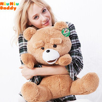 Wholesale Niuniu Daddy Semi finished Bearskin CM Classic toys Teddy Bear TED plush toys for kids A07