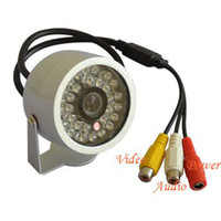 Wholesale 30LED IR Waterproof Color CCTV CMOS Surveillance Camera with Audio