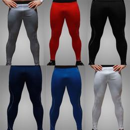 Capas base en Línea-Wholesale-alta calidad más nueva 2015 para hombre Ciclismo Pantalones / Medias de compresión / Capa base / Pieles Correr / Fitness Excercise Ropa / Pantalones