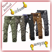 cargo pants for men - IFM Men s outdoor casual cotton cargo pant Male Casual Overalls combat camouflage pants dungarees trousers for man I28 I38