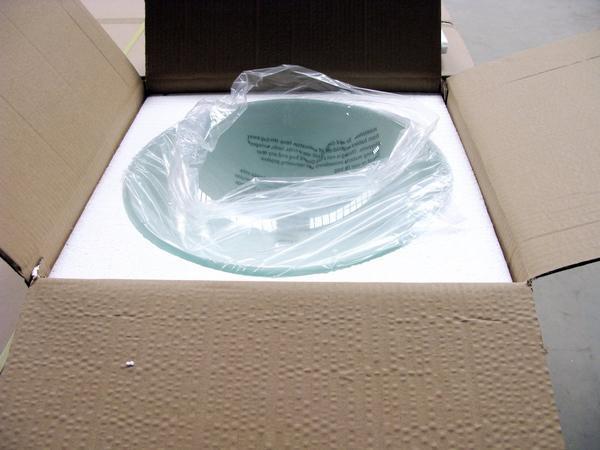 Lavabo de cristal productos de baño acuario no configuración de ...