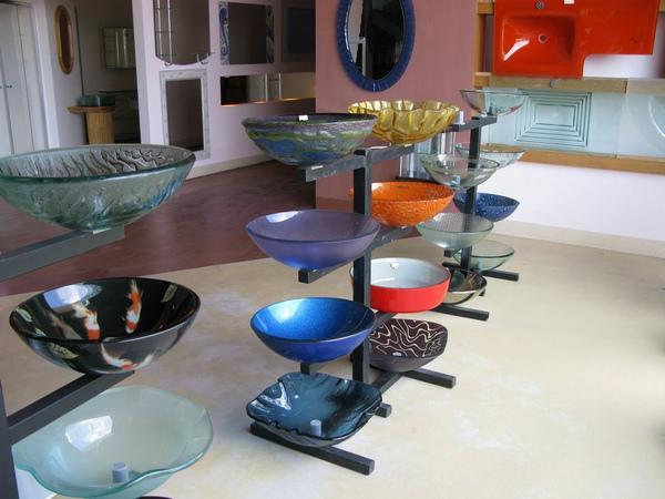 lavabo de cristal productos de bao de limpieza made in china sink