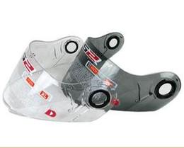 Wholesale Venta al por mayor libre del envío de la motocicleta Visera protector de viento LS2 modelo FF FF escudo contra el viento visera de cristal