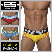 Wholesale Ropa interior hombre spain es collections underwear lingerie sexy hot men underwear briefs mens panties men s cotton briefs