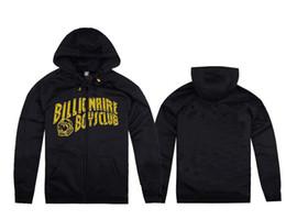 Wholesale Plus size s m l xl xxl original casual Billionaire Boy Club of BBC hoodies with yellow pritting