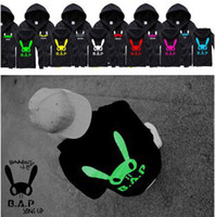 kpop - KPOP B A P Hoodie BAP YongGuk HimChan DaeHyun Zelo Baseball Jacket Uniform Hoodies Fleeces Coat