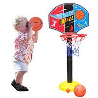basketball shooting machines - New Hot Children hanging frame shooting basketball with a basketball pump with high paternity Sports Toys CM