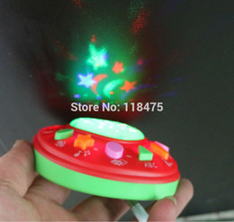 Wholesale New Russian language educational toys for kids apple learning machine with light colours mixed with retail box