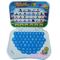 Precio de Juguetes chinos de la nueva llegada-Al por mayor-Nueva llegada y-cojín niños máquina de aprendizaje, dos idiomas (chino e inglés), juguetes educativos de los niños con buen sonido