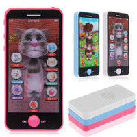 baby simulators - New Baby TOY Simulator Music Phone Touch Screen Children Toy Child Electronic Learning Toys Gift
