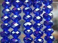 Wholesale 72pcs Blue Swarovski Crystal Gemstone Loose Beads x8mm