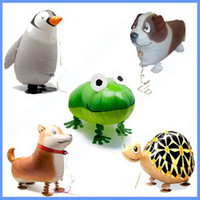 balloon pets game - mixed styles walking pet Helium balloons Kids birthday party decorations Inflatable toys gifts for children games