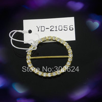 Cheap Wholesale-Free Shipping 25mm Inner Bar Round Decorative Buckle for Chairs or Wedding Decorations the Ring for Table Napkin Customized