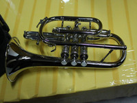 Wholesale best selling Brass Cornets Nickel free case Musical Instruments