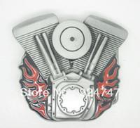 All'Ingrosso-Rosso Motore Fibbia Della Cintura