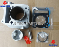 Wholesale BIG BORE Barrel Cylinder Piston Kit cc mm for SUZUKI GS125 GN125 EN125 GZ125 DR125 TU125 FMI