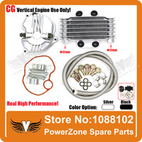 Wholesale Oil Cooler CG125 CG150 CG250 cc cc cc Radiator Cooling Parts Fit Motorcycle Dirt Bike ATV