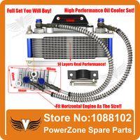 50cc dirt bikes - Dirt Monkey Pit Bike Motorcycle Oil Cooler Radiator Cooling Parts Fit cc cc cc cc Horizontal Engine