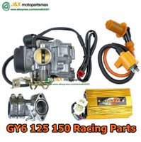 Cheap Wholesale-GY6 125 150 Scooter high Performance Carburetor Intake racing cdi racing coil performance gy6 150cc performance parts