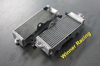 Cheap Wholesale-aluminum radiator for Yamaha YZ125 YZ 125 2-stroke 1996 - 2001 1997 1998 1999 2000 Left + Right