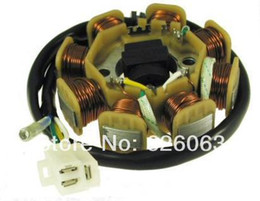 Wholesale Stator Assembly Type coil wire pin for cc stroke QMB139 engines Scooter Part