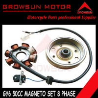 Cheap Wholesale-Stator Magneto whit magnetic cilynder 8 Coil for GY6 50cc QMB139 Scooter SUNL,Roketa, NST,Baotian,Keeway,JCL, Taotao, ATV Motors