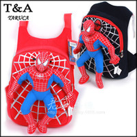 Wholesale New Character Cute D Spiderman Children Backpacks Baby School Bags For Boys Cartoon Backpack Kids Satchel Mochila Infantil