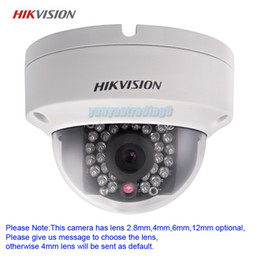 Wholesale-HIKVISION 3.0Mp 1080P Full HD ONVIF Outdoor Waterproof Mini Dome Security CCTV IR Network IP Camera,Support PoE DS-2CD3132-I