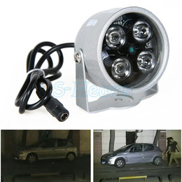 Wholesale Infrared Night IR Lamp Security Light vision LED CCD M Waterproof Outdoor illuminator Drop Shipping