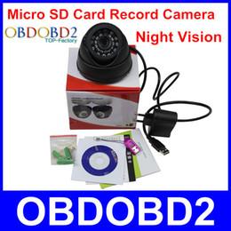 Vente en gros 2015 l'arrivée de nouveaux 700TVL de caméra de vidéosurveillance intérieure Avec 24 Leds TF / caméra de carte Micro SD enregistrement Night Vision facile d'utilisation à domicile de sécurité à partir de sécurité facile fabricateur