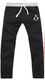 Wholesale-men pants joggers assassins creed trousers sweat pants winter fleece sweatpants hip hop