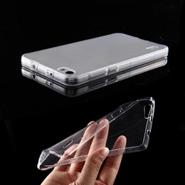 Gros-Marque Qualité 0.6mm Ultra Thin Slim Cover Crystal Clear souple TPU Retour Case Pour Huawei Honor 6 Covers livraison gratuite silicone apple iphone cases wholesale for sale à partir de silicone apple iphone gros fournisseurs