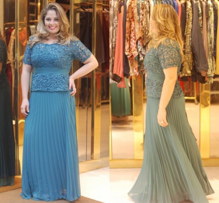 مدل لباس برای دختر خانمهای چاق