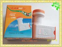 Wholesale Universal Ku Band Twin LNBF Ku band Dual Polarization LNBF Low Noise Drop Shipping