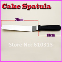 Wholesale Cake Straight Spatula Smooth Filling Icing Spread Tool Spatula cake tools Curved kiss kitchen tools