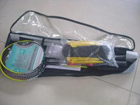 Wholesale 4pcs yellow Badminton Racket Racquet shuttlecockk rackets combination free shuttlecocks