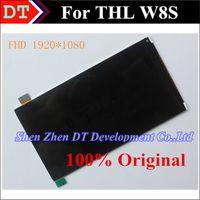 Al por mayor-THL W8S Pantalla LCD asamblea de pantalla 1920 * 1080 100% original Para THL W8S W8 allá FHD Envío Gratis