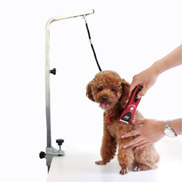 Wholesale Pet grooming station Tactic fixed rope sling dog grooming table mounted boom rope pet supplies