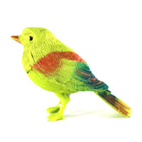 Wholesale Lovely Gift Fantastic Singing Song Bird Cute Bird Voice Control Bird Toy for Children pics