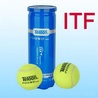 Wholesale 40cans ITF tennis balls ball machine top wool tennis balls good quality HD T POUND PRO professional