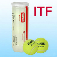 Wholesale 40cans ITF tennis balls ball machine top wool tennis balls good quality HD T Z PRO professional