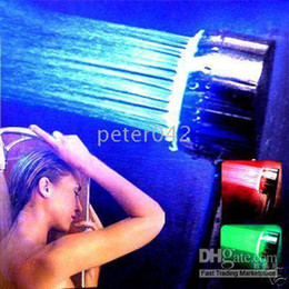 Colorful LED Shower head  color changing led shower Hot sellling!!!
