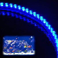 Aquarium Fish Tank LED Moonlight Strip Light Blue NEW LIGHTI...