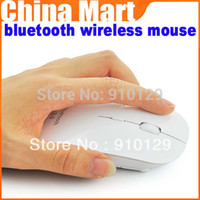 Cheap Wholesale-Hot saling bluetooth wireless mouse for apple Macbook iMac Win 7 vista XP laptop PC,free shipping